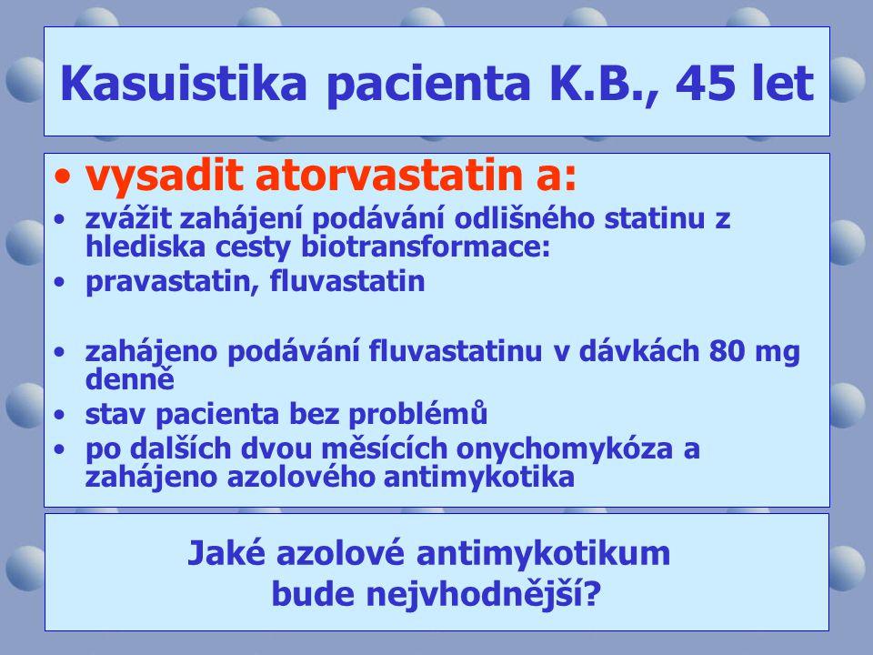 Kasuistika pacienta K.B., 45 let