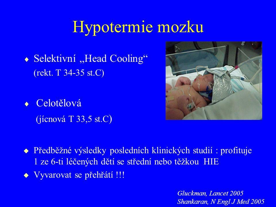 """Hypotermie mozku Selektivní """"Head Cooling Celotělová"""
