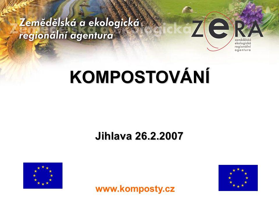 KOMPOSTOVÁNÍ Jihlava 26.2.2007 www.komposty.cz