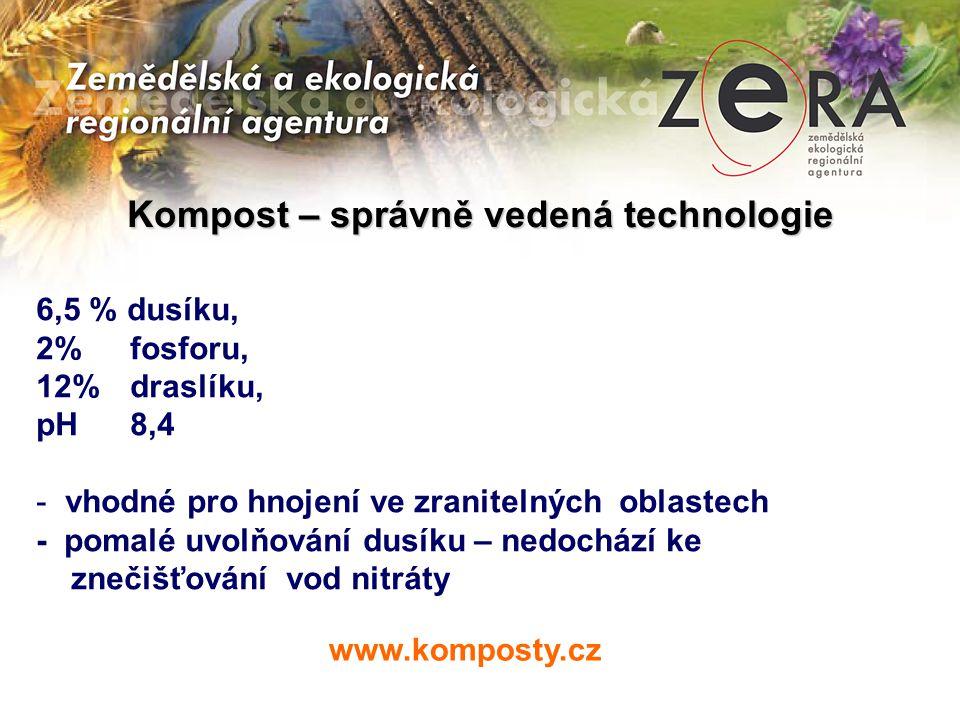 Kompost – správně vedená technologie