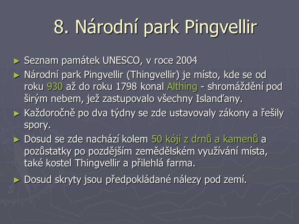 8. Národní park Pingvellir