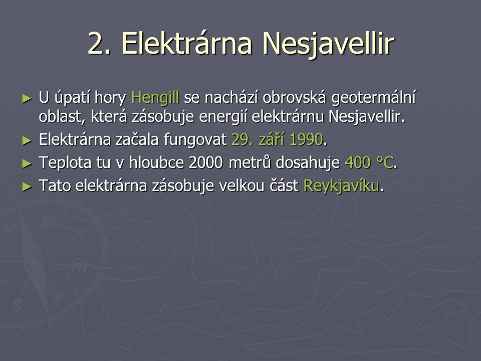 2. Elektrárna Nesjavellir