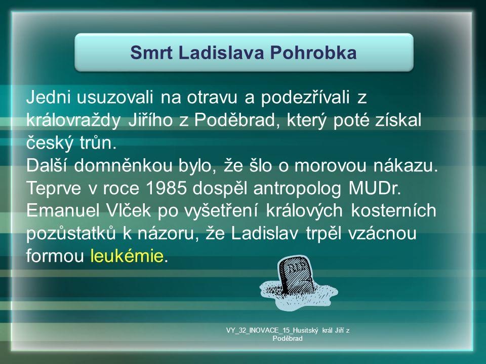 Smrt Ladislava Pohrobka