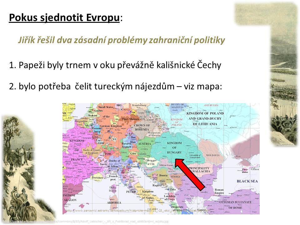 Pokus sjednotit Evropu: