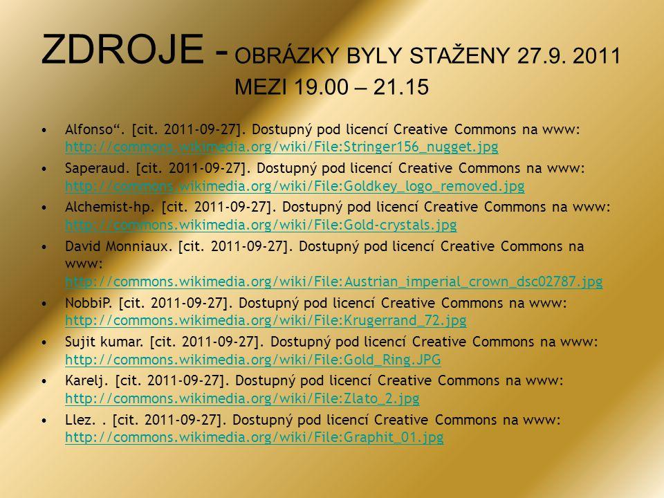 ZDROJE - OBRÁZKY BYLY STAŽENY 27.9. 2011 MEZI 19.00 – 21.15