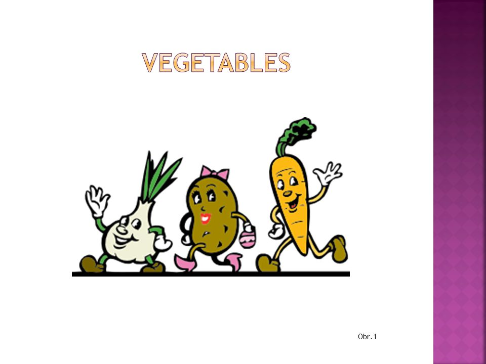 vegetables Obr.1