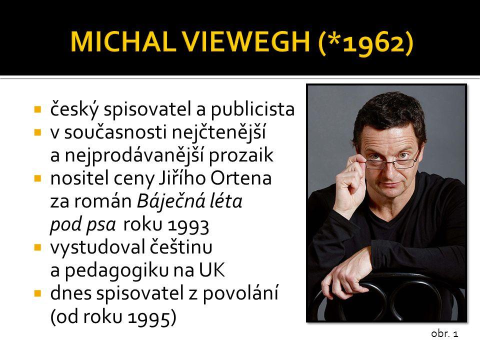 MICHAL VIEWEGH (*1962) český spisovatel a publicista