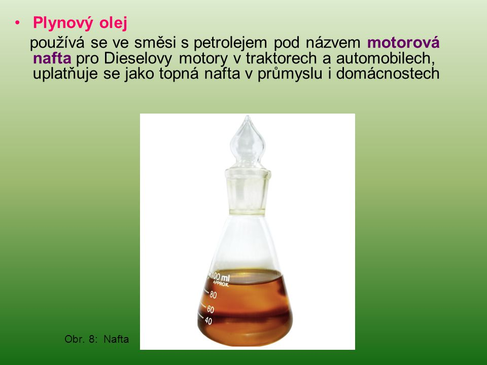 Plynový olej