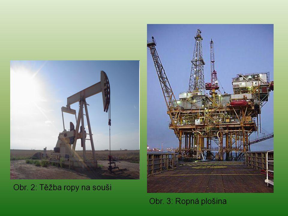 Obr. 2: Těžba ropy na souši