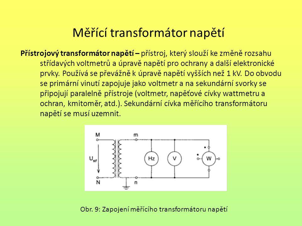 Měřící transformátor napětí