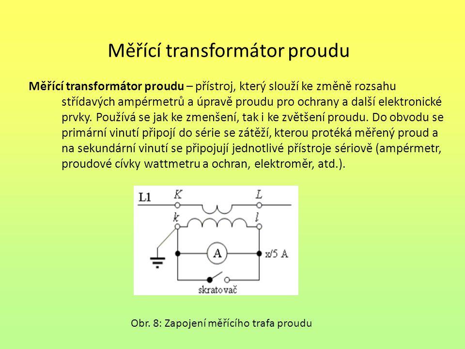 Měřící transformátor proudu