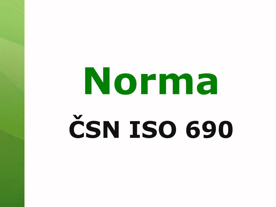 Norma ČSN ISO 690