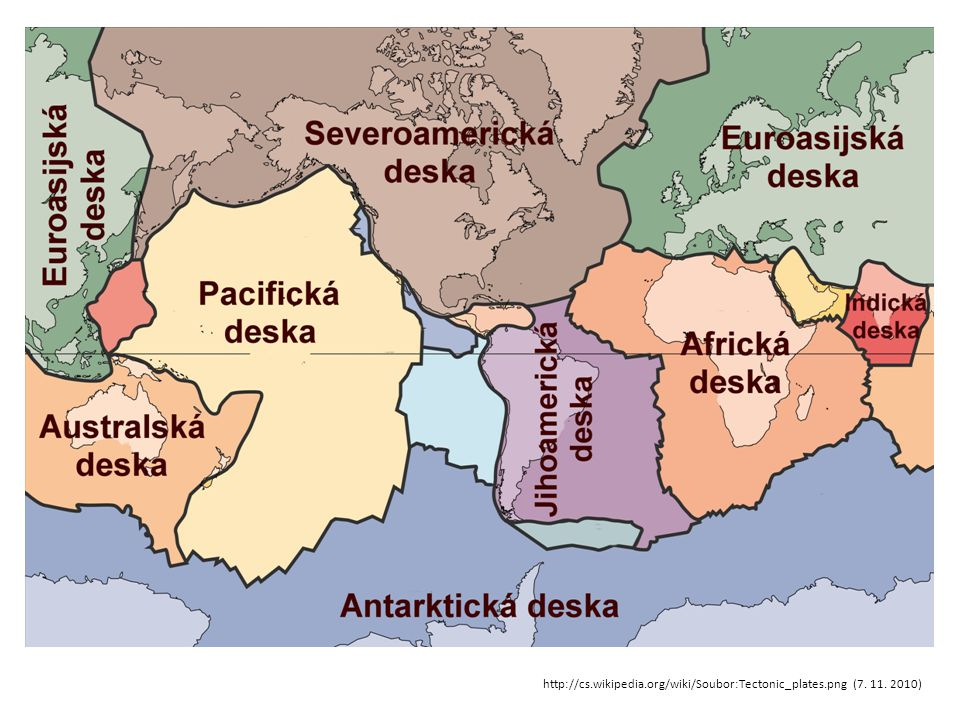 trojný bod – setkávají se tři tektonické zemské desky