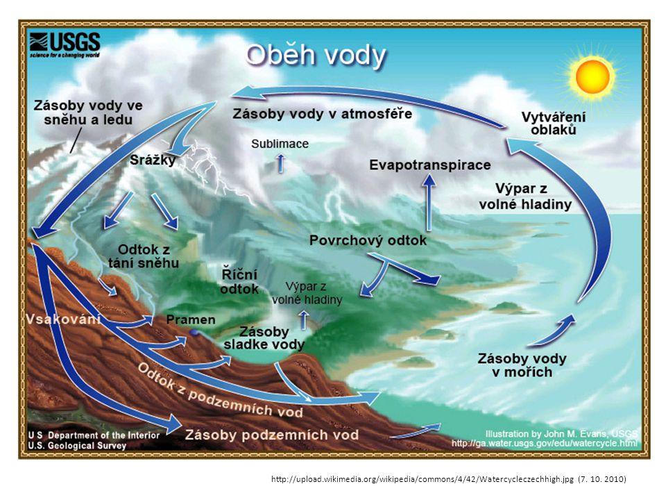 Voda je nedílnou součástí všech živých organizmů.