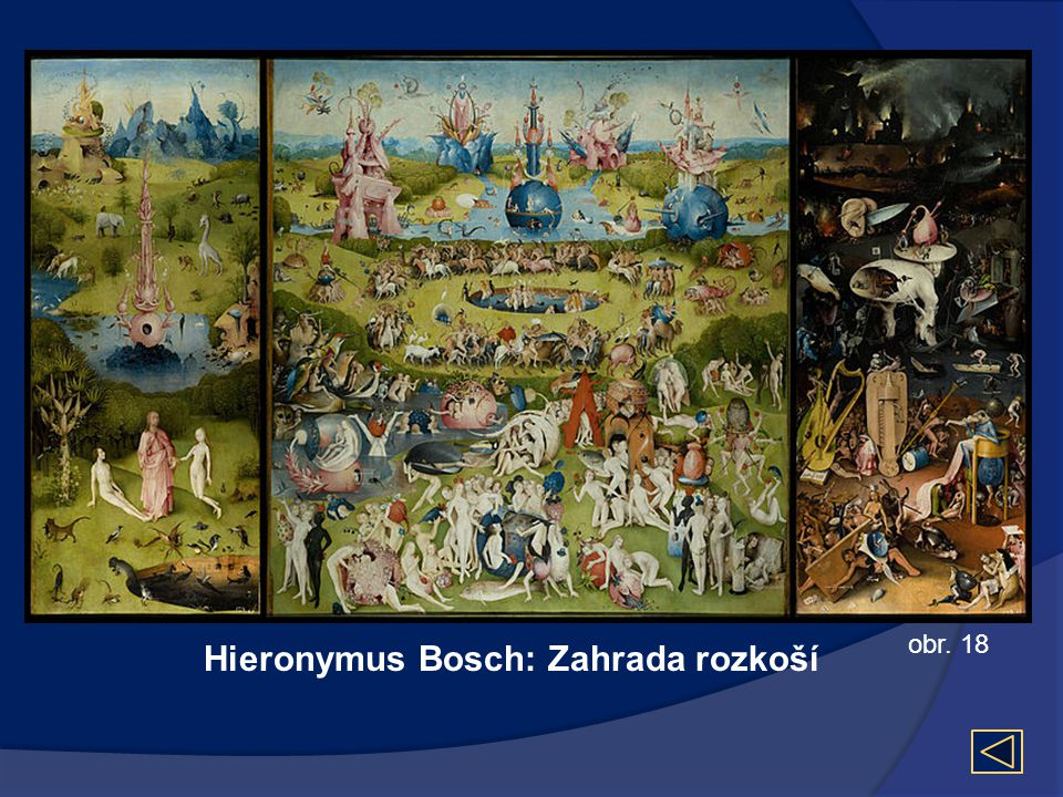 Hieronymus Bosch: Zahrada rozkoší