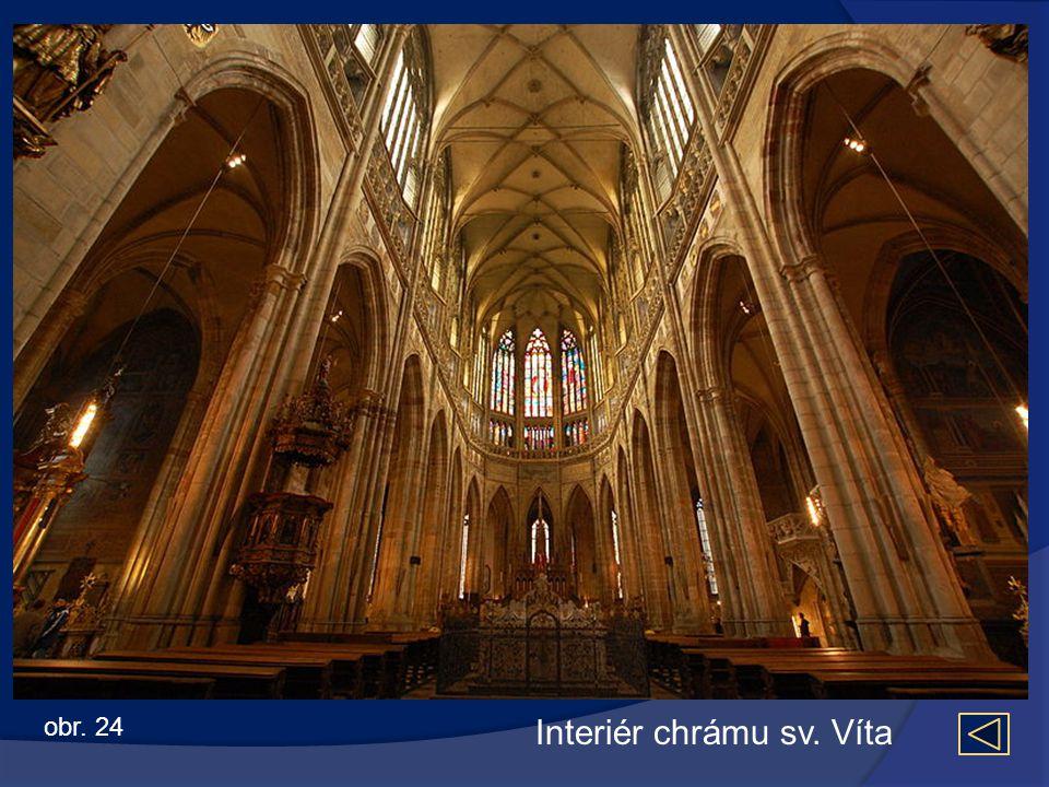 Interiér chrámu sv. Víta