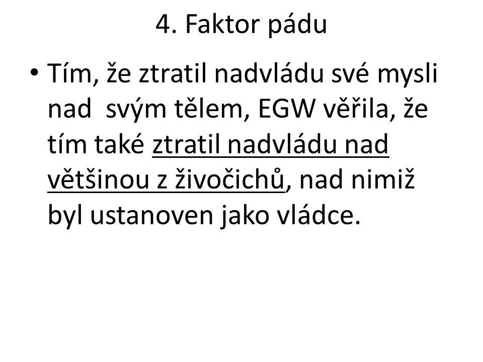 4. Faktor pádu