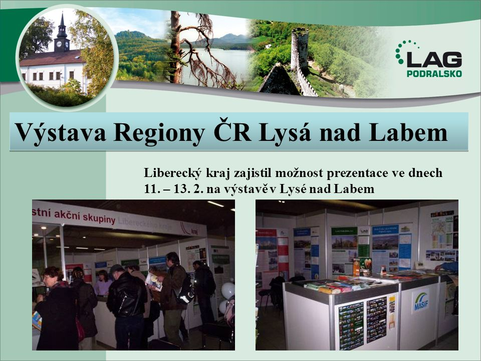 Výstava Regiony ČR Lysá nad Labem