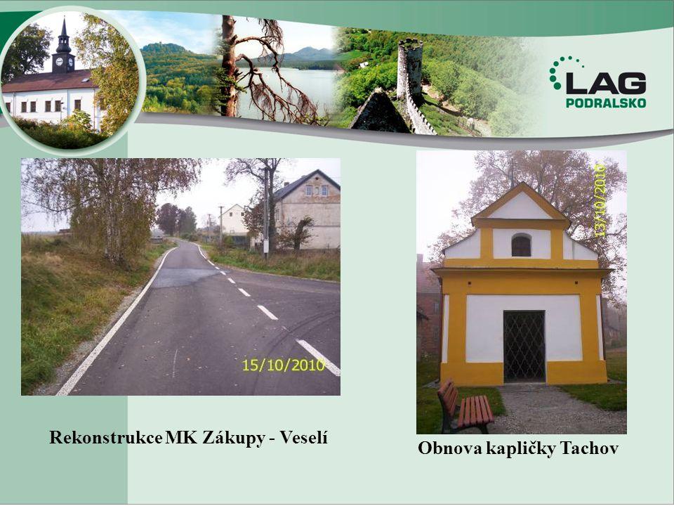 Rekonstrukce MK Zákupy - Veselí