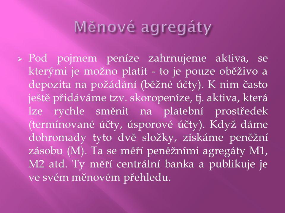 Měnové agregáty