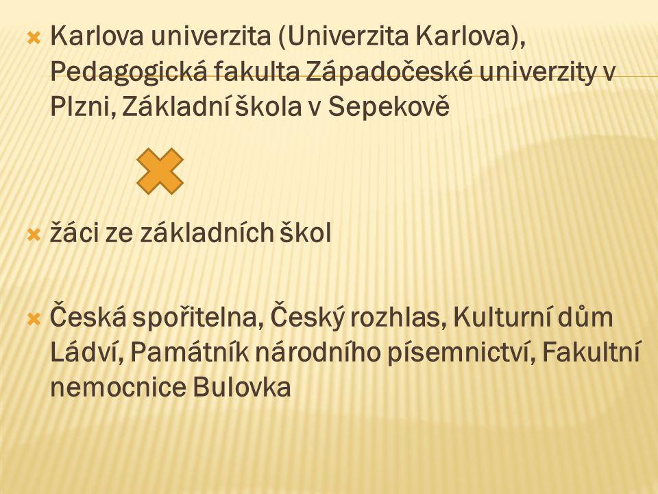 Karlova univerzita (Univerzita Karlova), Pedagogická fakulta Západočeské univerzity v Plzni, Základní škola v Sepekově