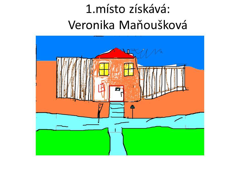 1.místo získává: Veronika Maňoušková