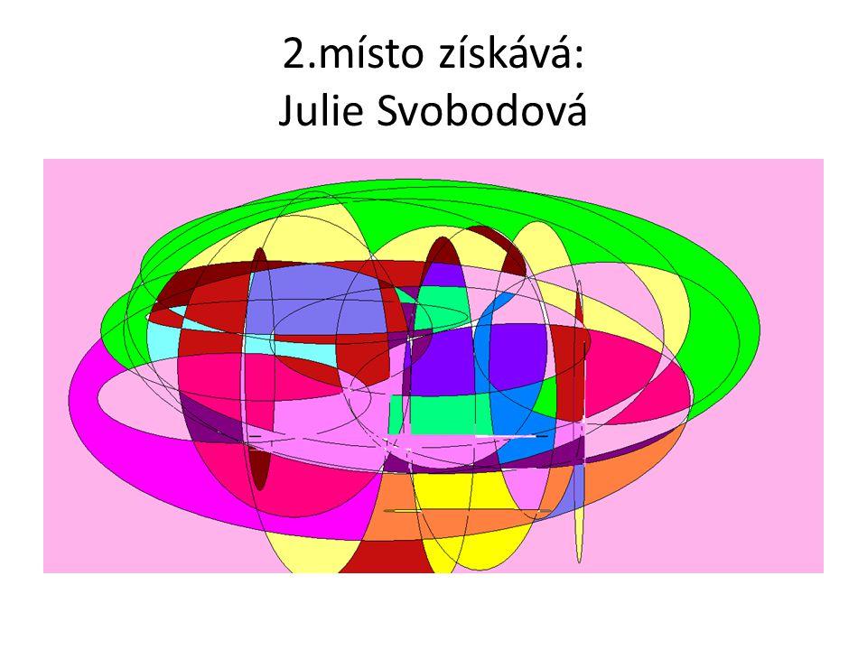 2.místo získává: Julie Svobodová