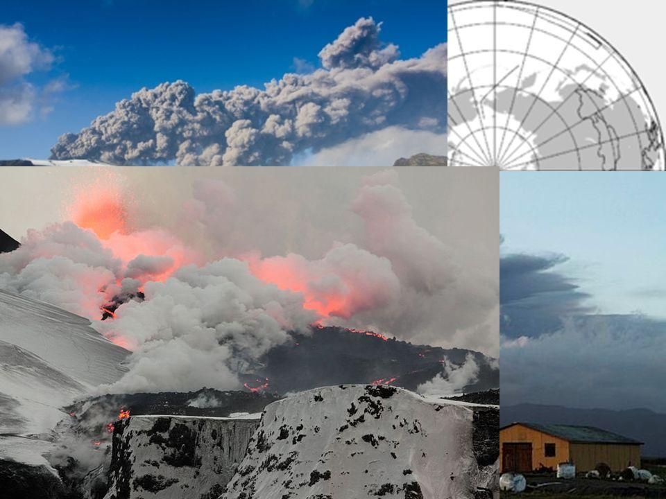 Eyjafjallajökull Natočená erupce sopky