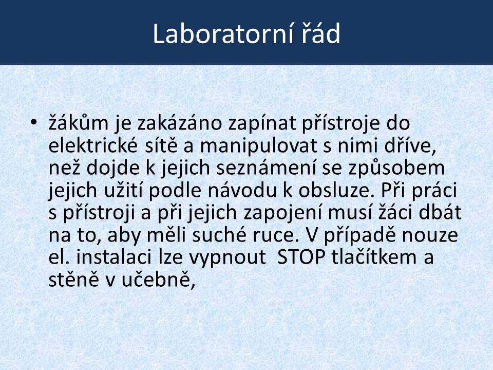 Laboratorní řád