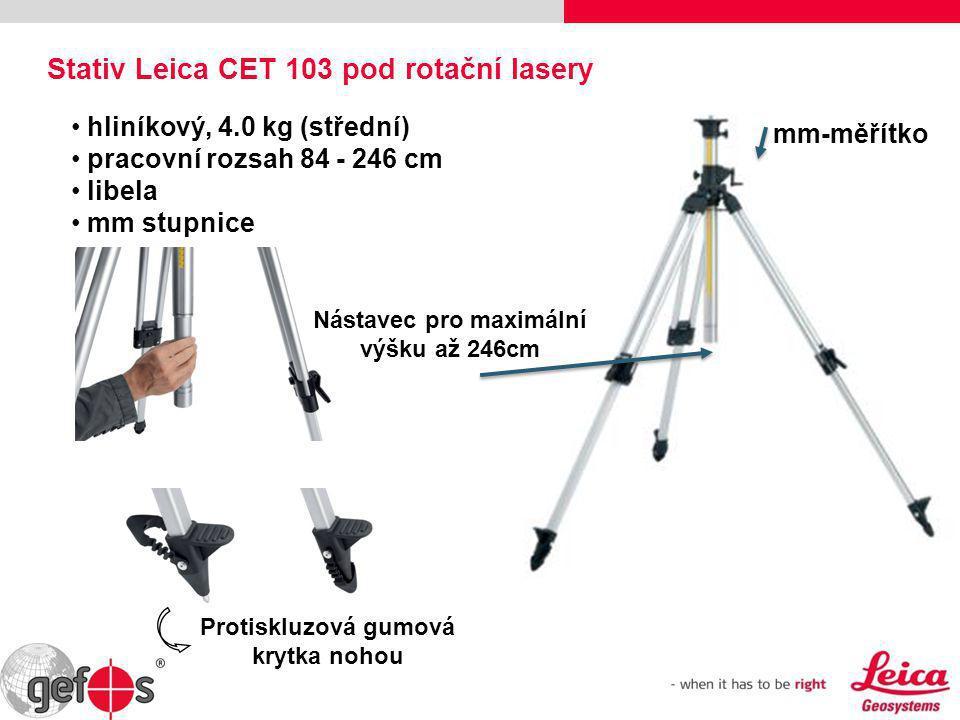 Stativ Leica CET 103 pod rotační lasery