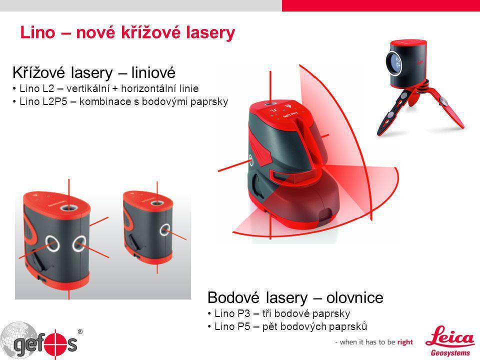 Lino – nové křížové lasery