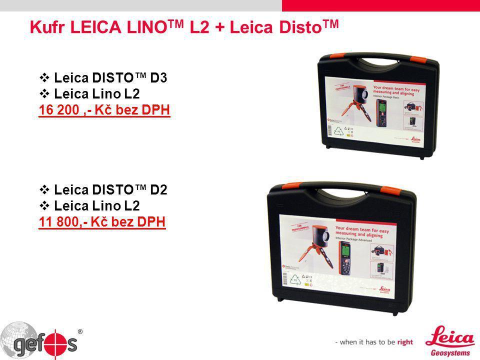 Kufr LEICA LINOTM L2 + Leica DistoTM