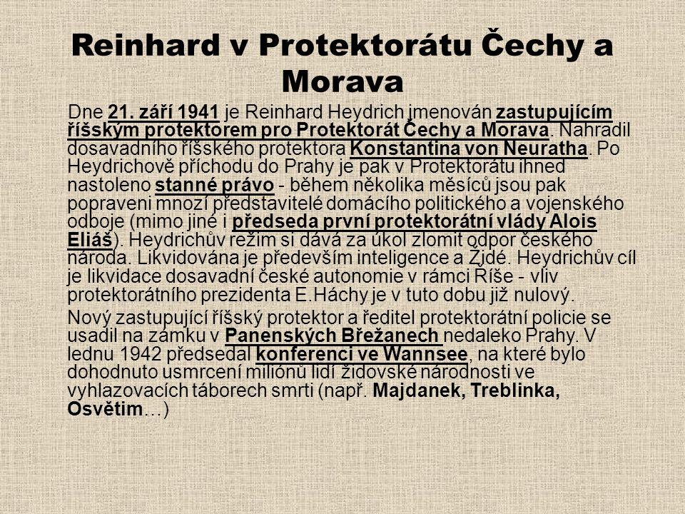 Reinhard v Protektorátu Čechy a Morava