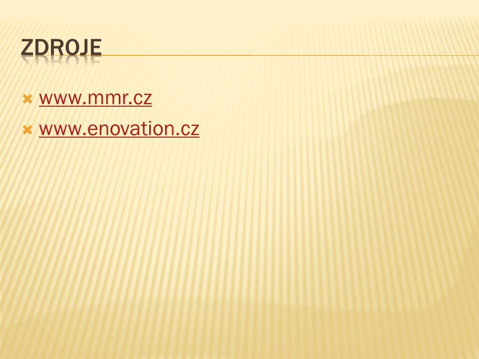 Zdroje www.mmr.cz www.enovation.cz