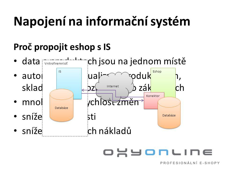 Napojení na informační systém