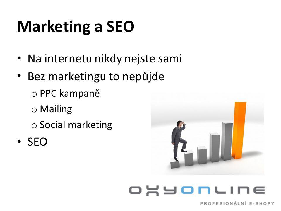 Marketing a SEO Na internetu nikdy nejste sami