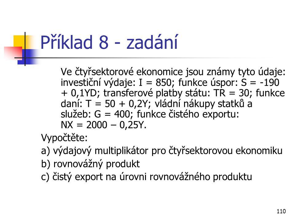 Příklad 8 - zadání