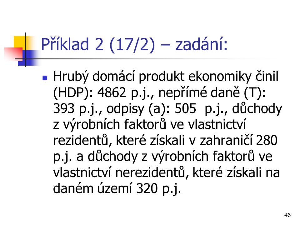 Příklad 2 (17/2) – zadání:
