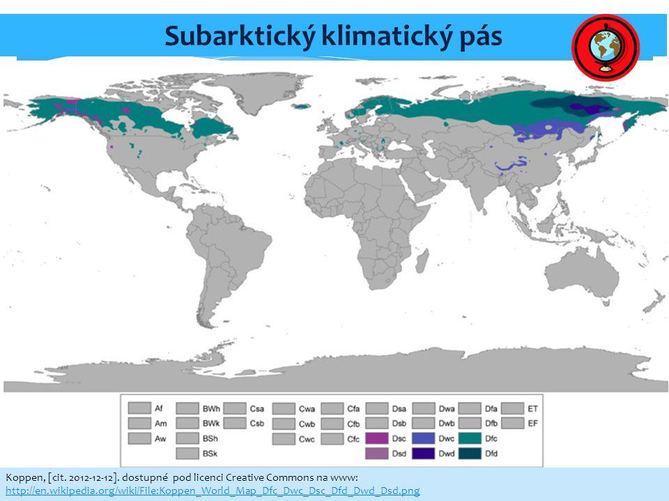 Subarktický klimatický pás