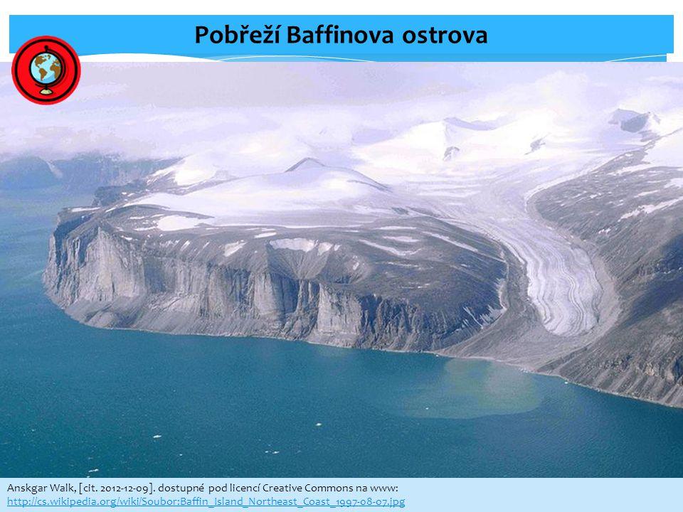 Pobřeží Baffinova ostrova