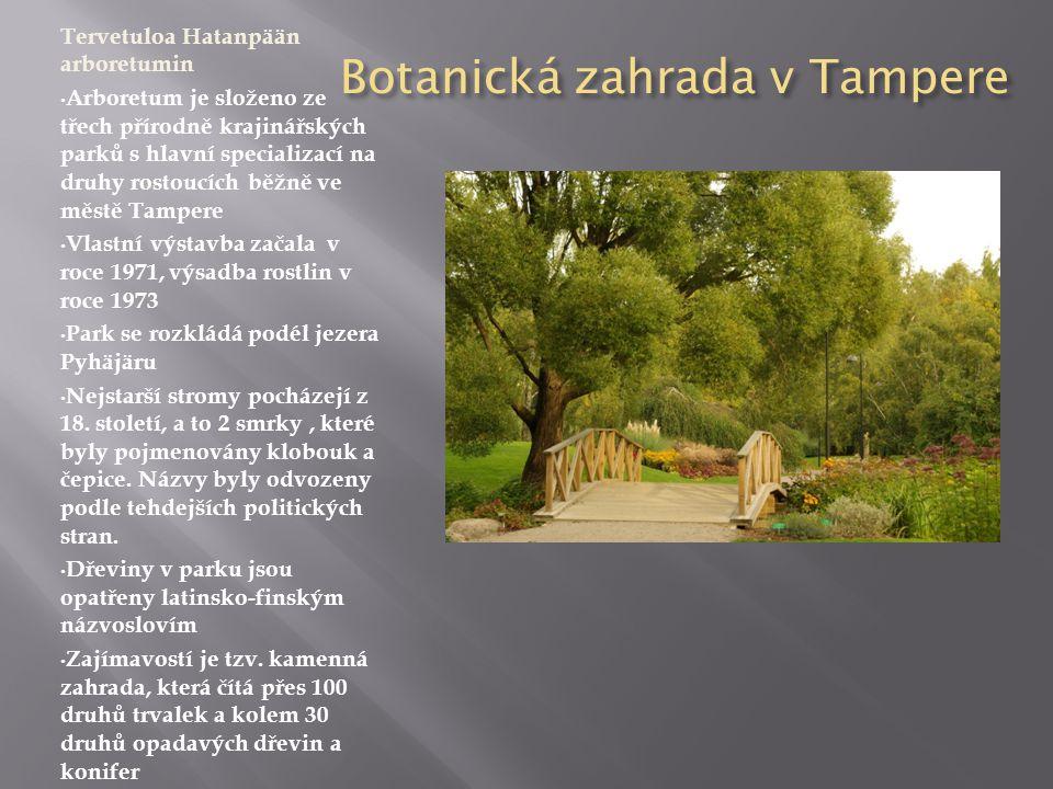 Botanická zahrada v Tampere