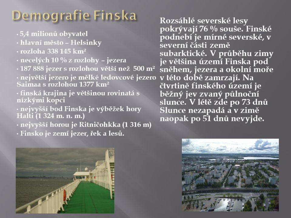 Demografie Finska