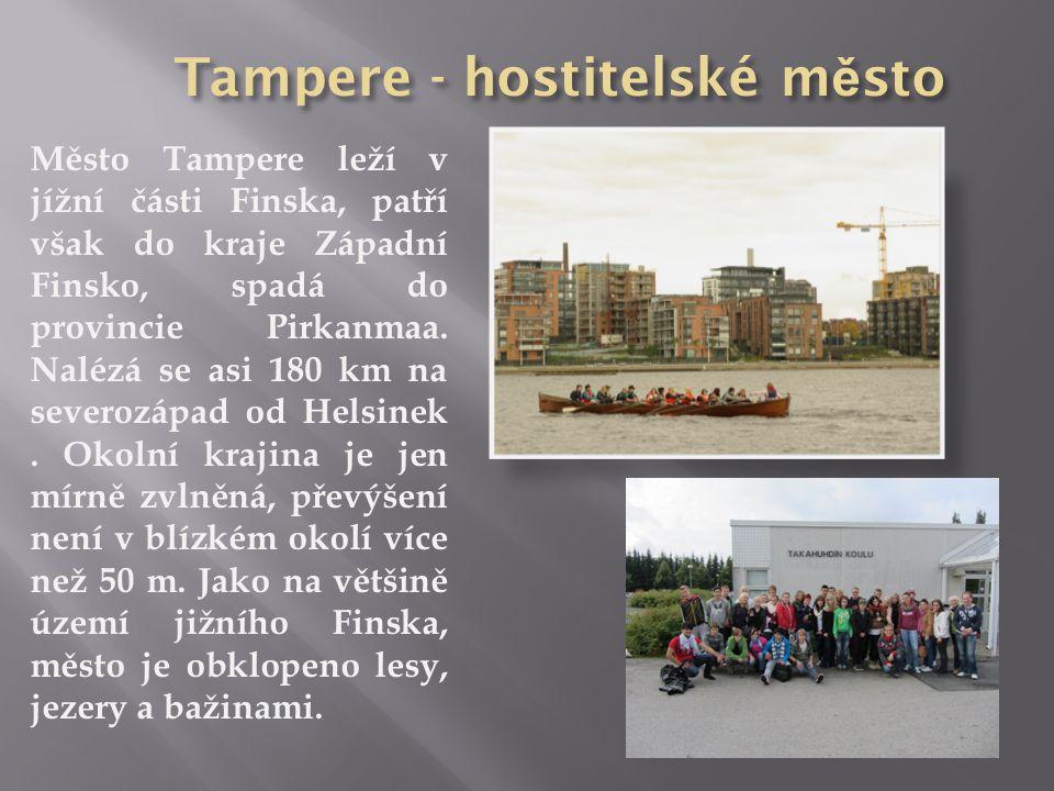 Tampere - hostitelské město