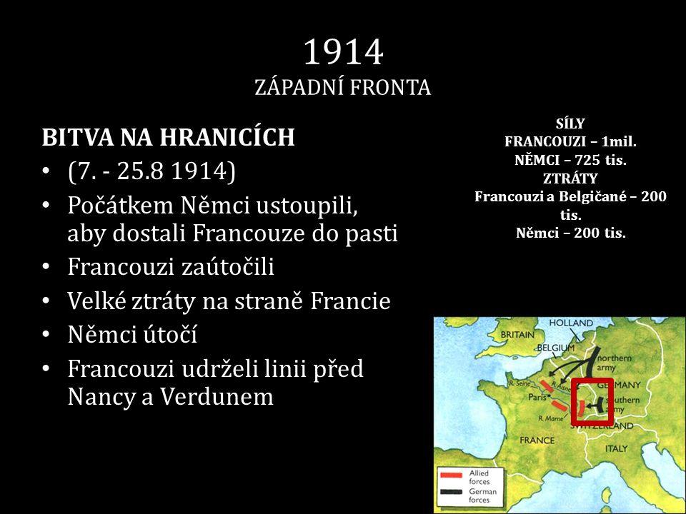 Francouzi a Belgičané – 200 tis.