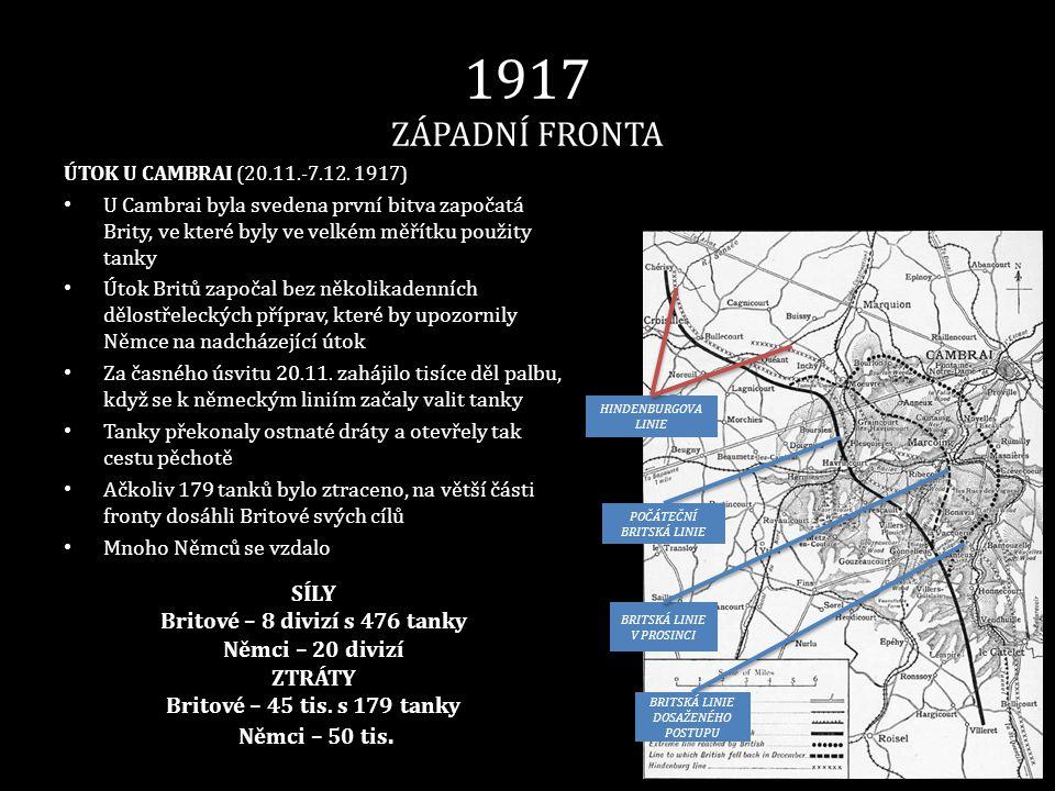 Britové – 8 divizí s 476 tanky