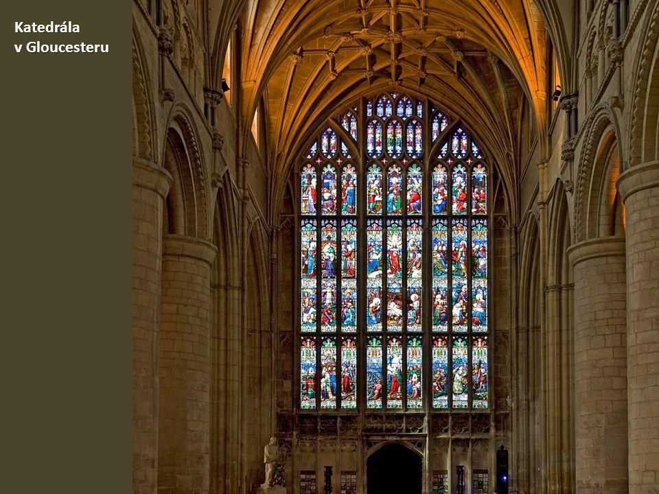 Katedrála v Gloucesteru