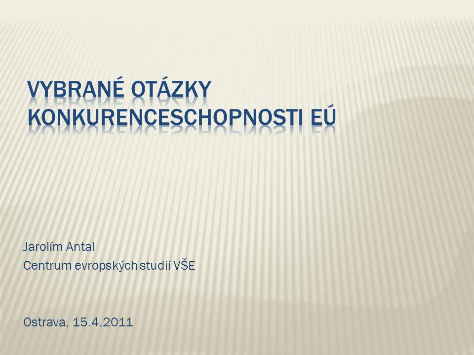 Vybrané otázky konkurenceschopnosti EÚ
