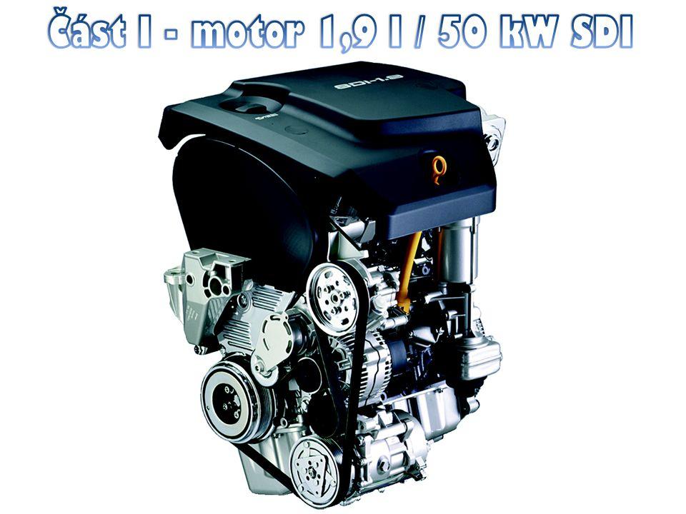 Část I - motor 1,9 l / 50 kW SDI