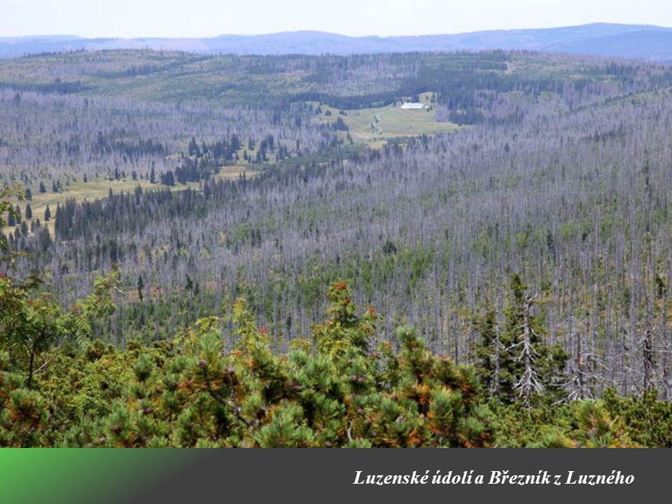 Luzenské údolí a Březník z Luzného