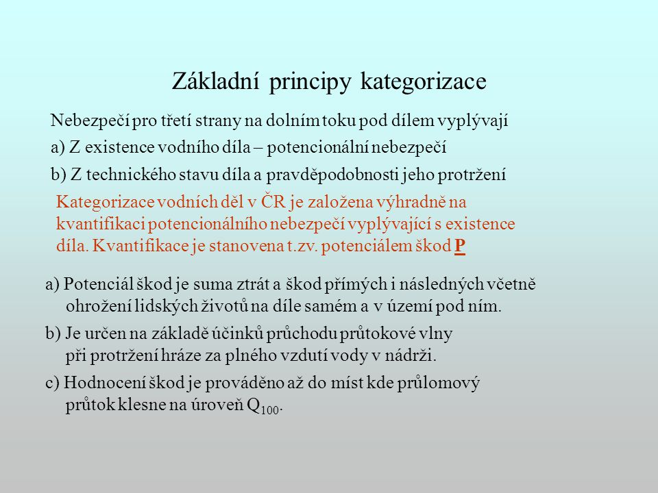 Základní principy kategorizace